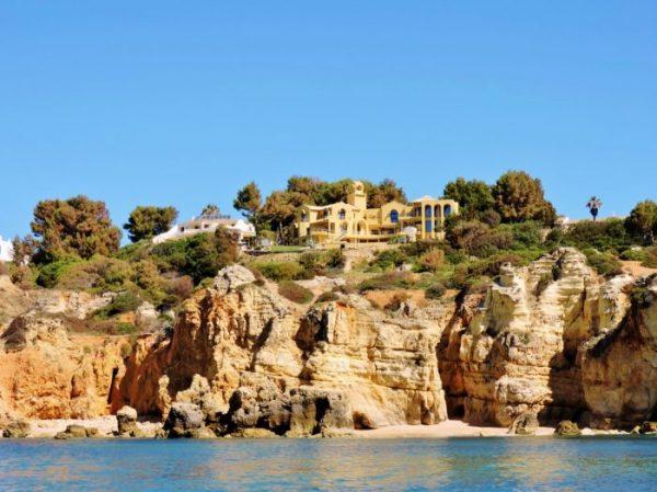 Algarve Bootstour Küste entlang