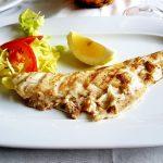 Gebratener Fisch auf dem Teller
