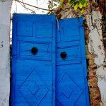 Blaues Tor, Sidi Bou Said in Tunesien