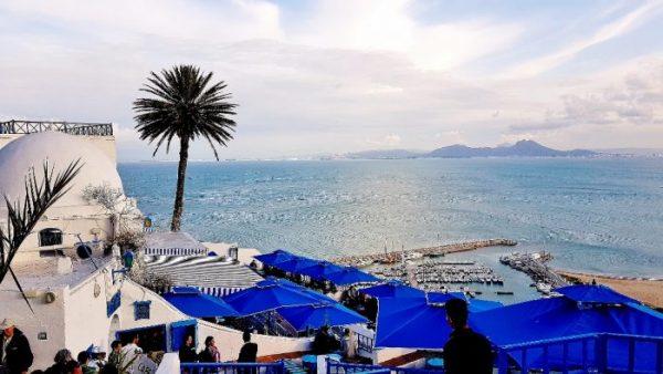 Aussicht von Sidi Bou Said, Sehenswürdigkeiten Tunesien