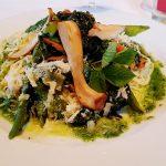 Vegetarisches Gericht auf Teller