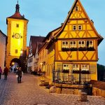 Plönlein Haus in Rothenburg ob der Tauber