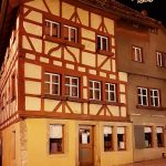 altes Haus in Rothenburg ob der Tauber