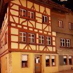 altes Haus in Rothenburg ob der Tauber