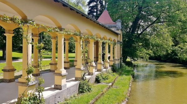 Wildbad Rothenburg ob der Tauber Frankens Gartenparadiese