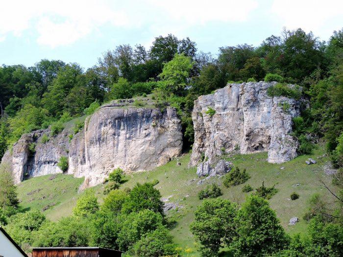 Felsen in der Landschaft