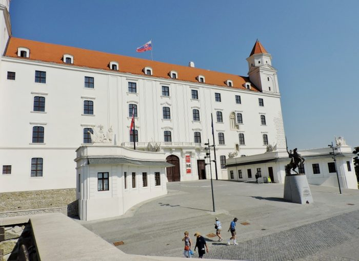 Bratislava Card, Burg Besichtigung
