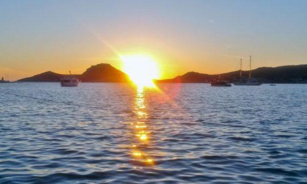 Bodrum Urlaub, Sonnenuntergang am Meer