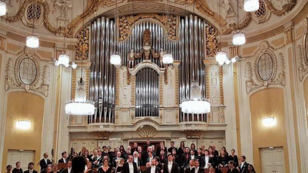 Mozart Aufführung im Konzertsaal
