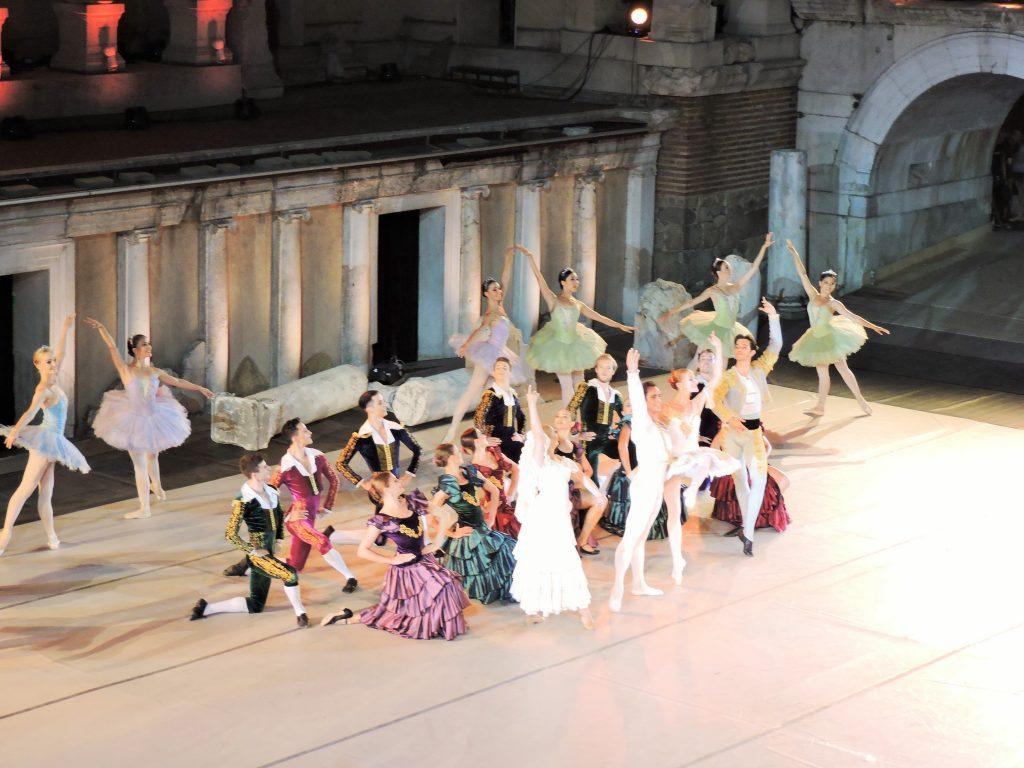 Ballett im Amphitheater Plovdiv