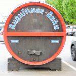 riesiges Bier-Fass