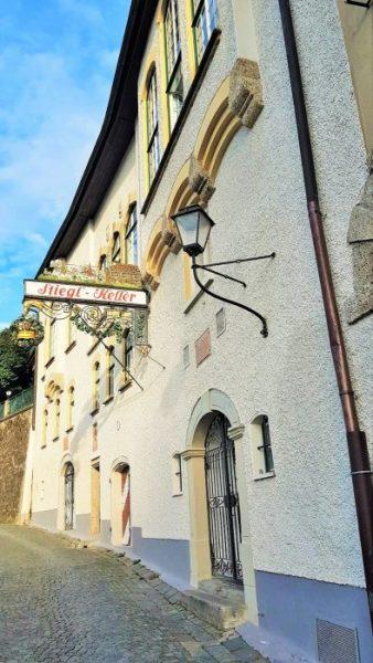 Hausansicht Stieglkeller Salzburg