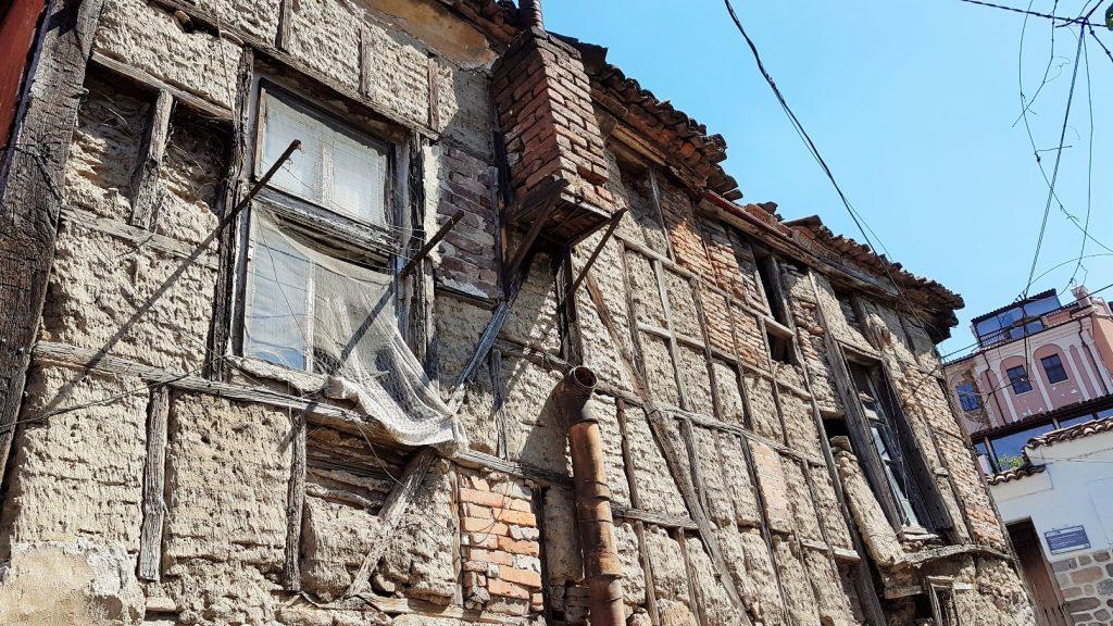 alte Haus Ruine verfallend