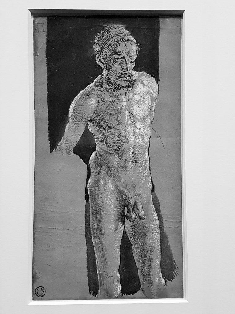Nacktes Selbstbildnis von Albrecht Dürer