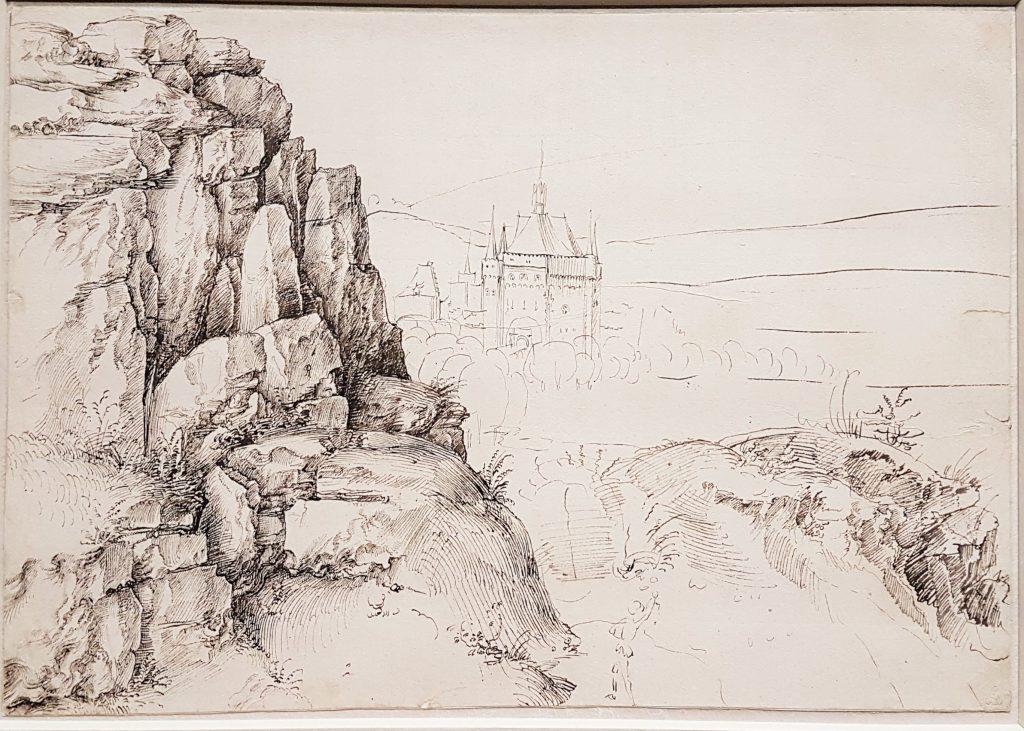 Landschafts-Zeichnung von Albrecht Dürer
