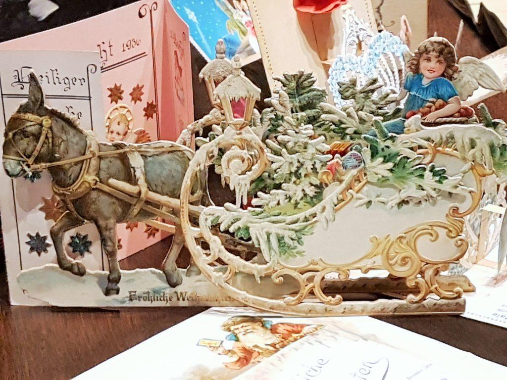 historische Weihnachtskarte