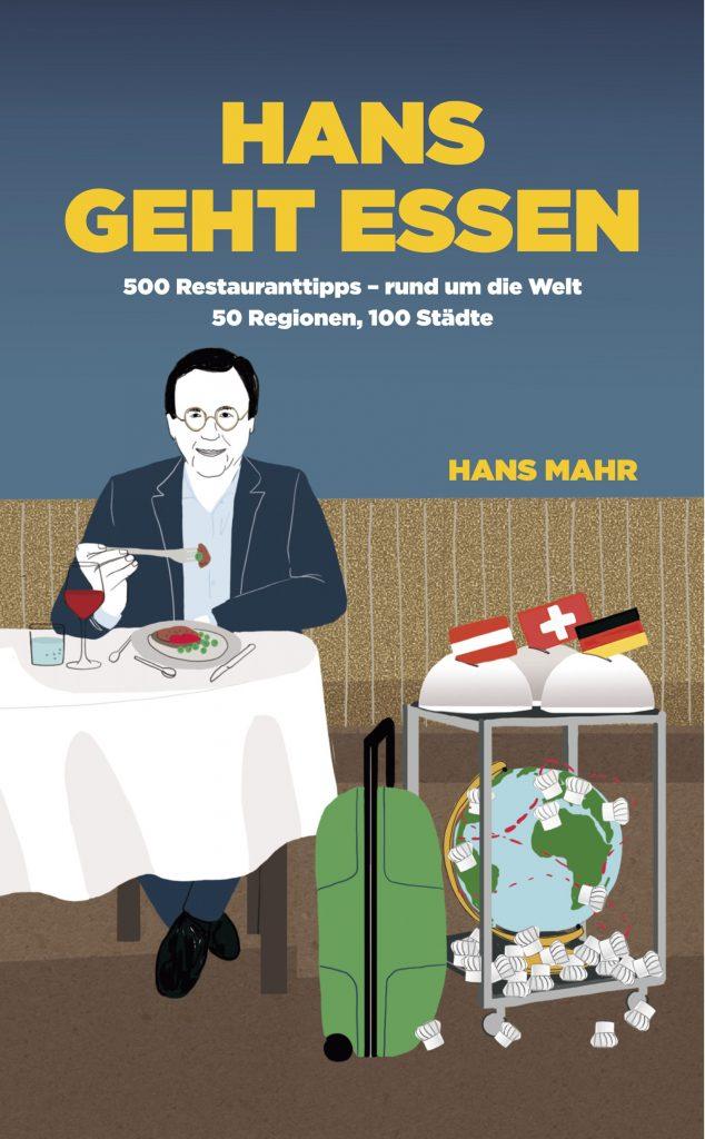 """Buch Cover für """"Hans geht essen"""""""