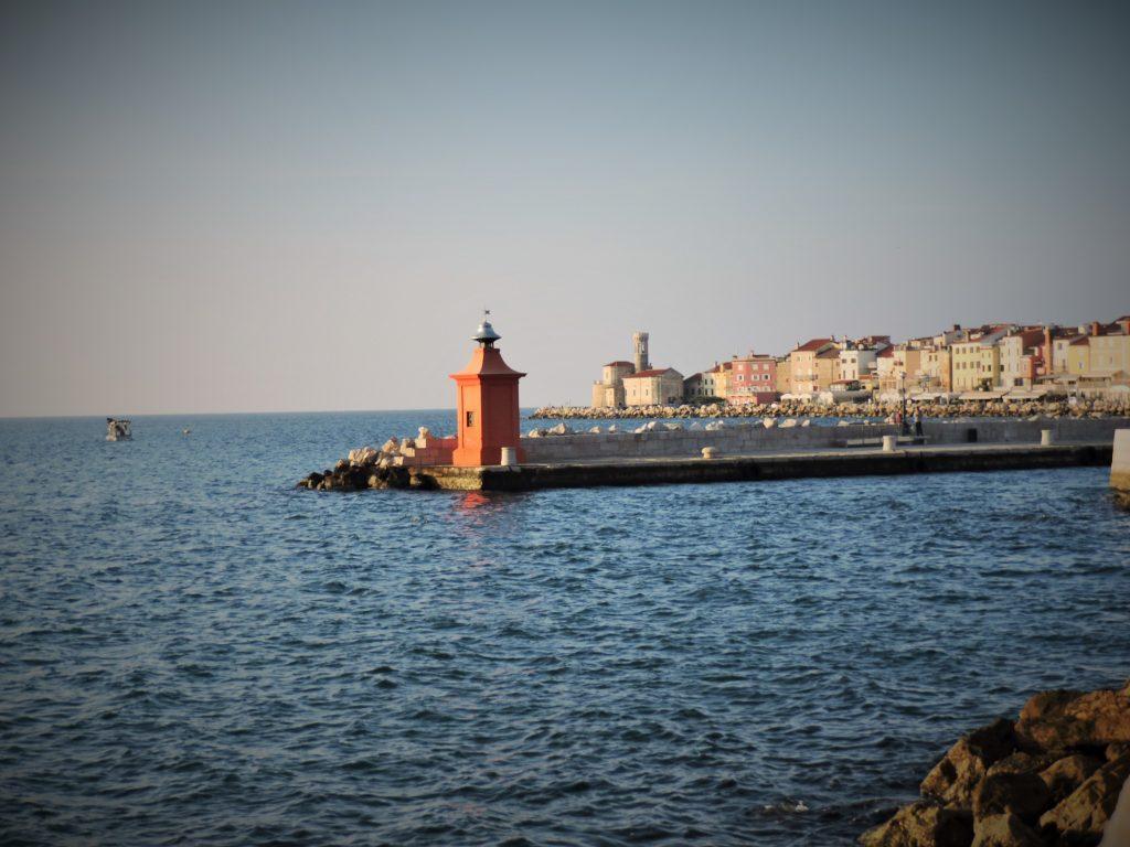 Der kleine Hafen von Piran