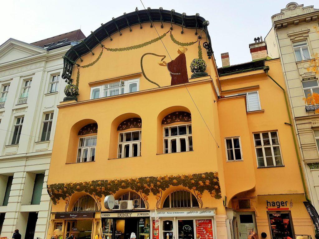 Stöhr Haus eine der St. Pölten Sehenswürdigkeiten im Jugendstil