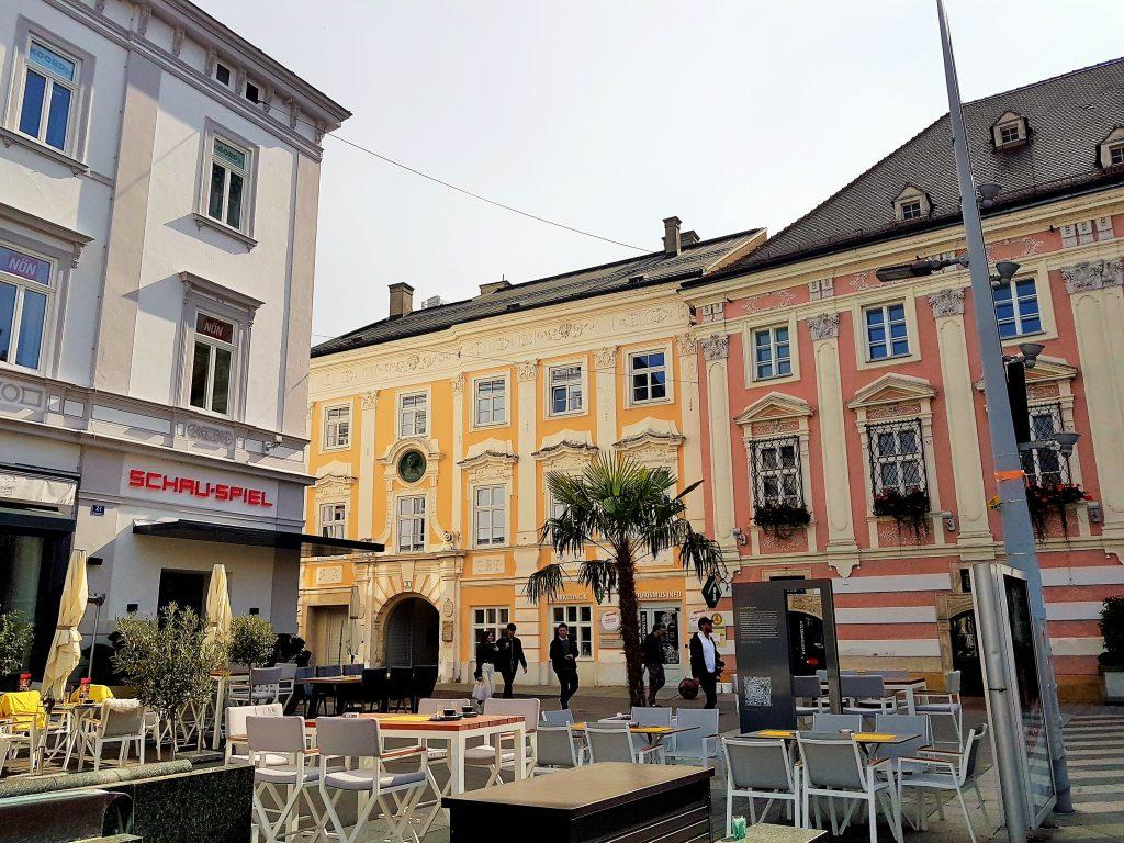 St. Pölten Sehenswürdigkeiten mit Rathaus