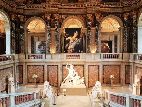 Aufgang Kunsthistorisches Museum Wien
