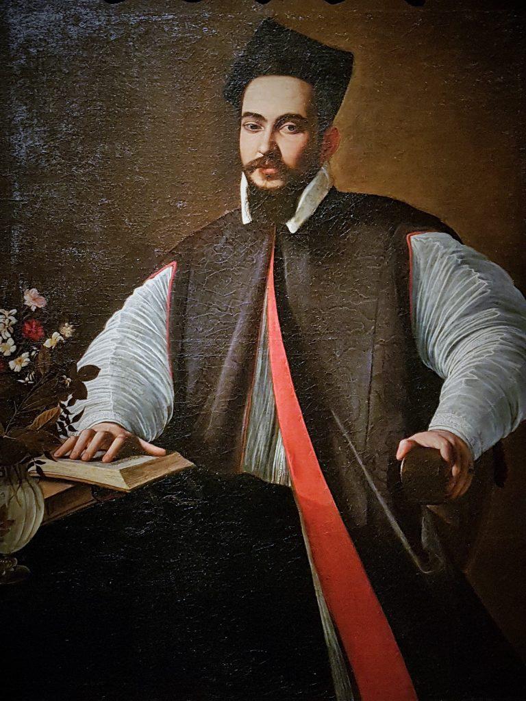 Gemälde des italienischen Malers Caravaggio mit Männerportrait