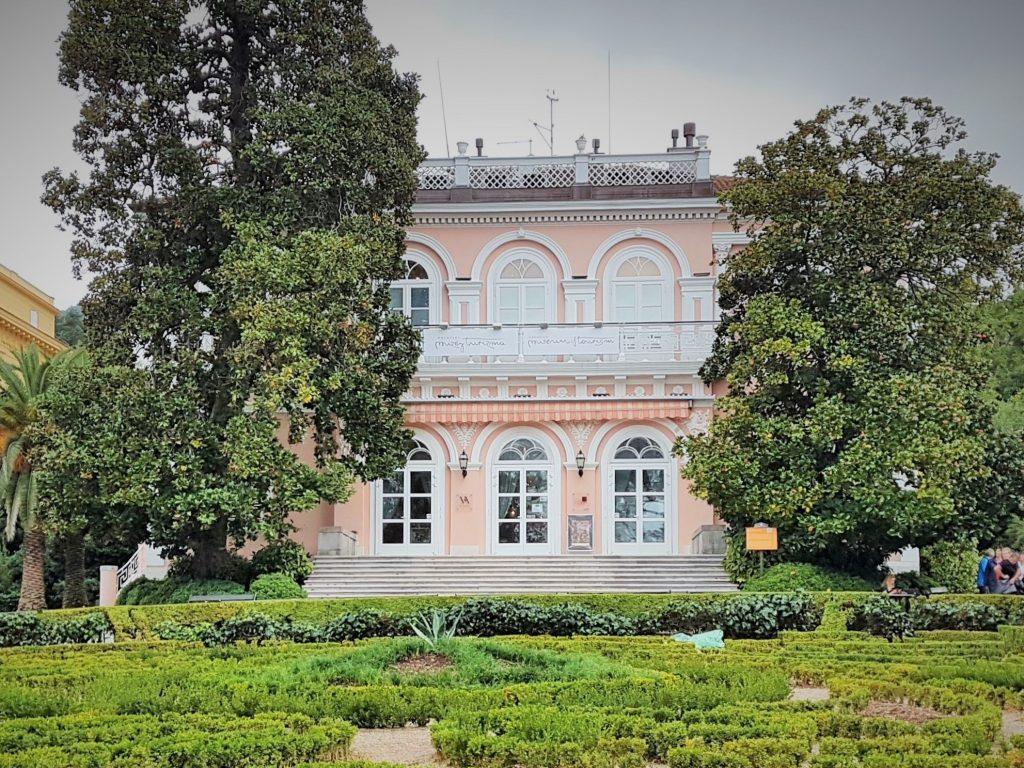 Villa Angiolina im Park, Opatija Sehenswürdigkeiten