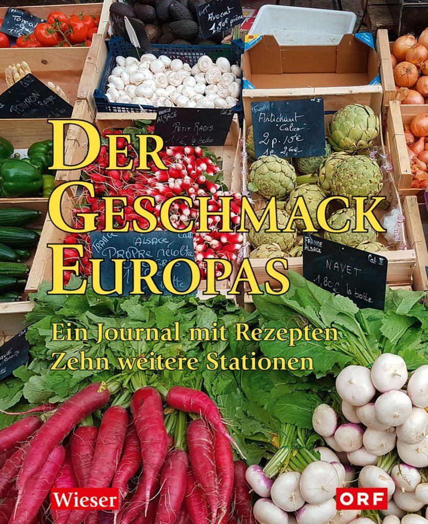 """Buchcover """"der Geschmack Europas"""""""