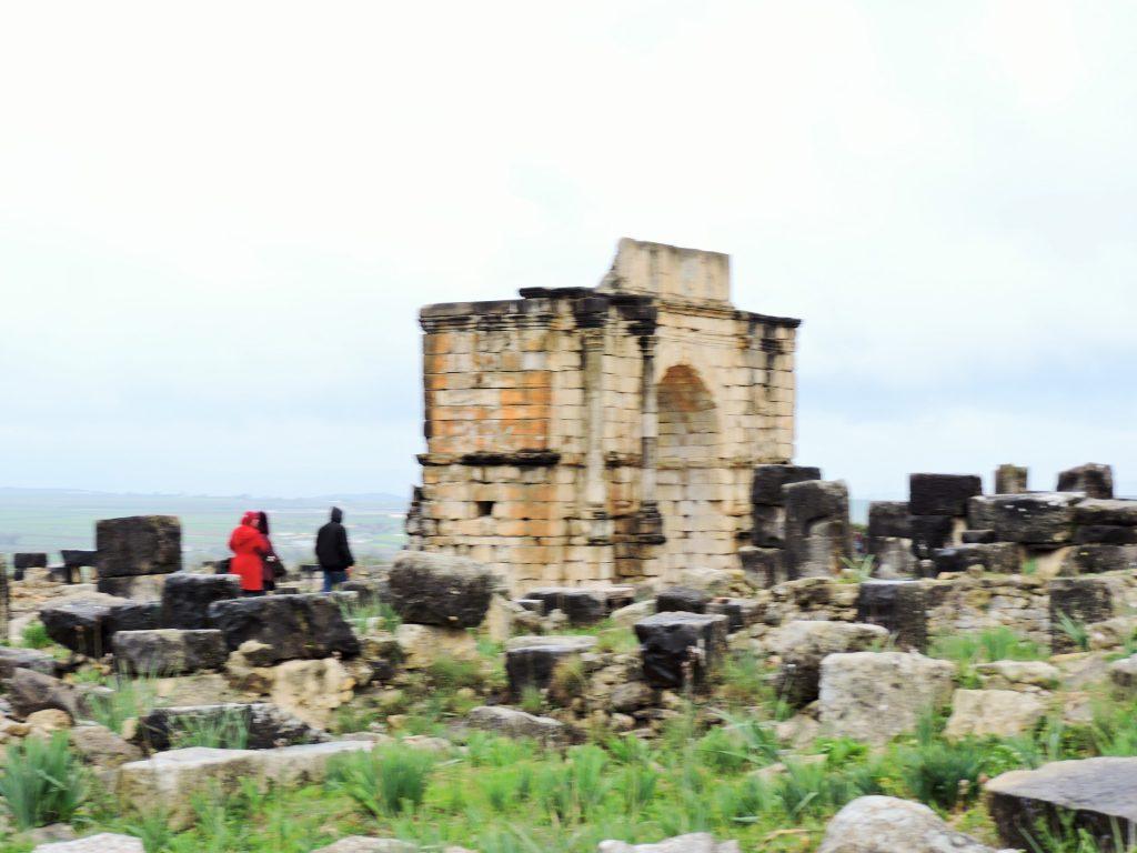 antike Ruinenstätte Volubilis Bilder