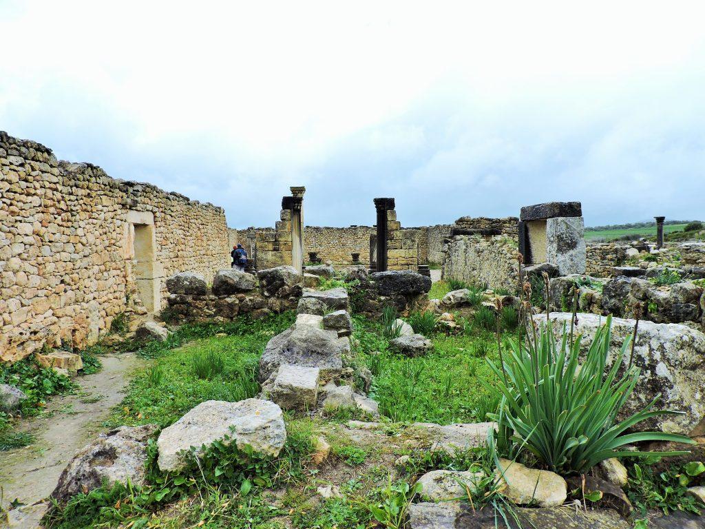 Ausgrabungsstätte von Volubilis Marokko