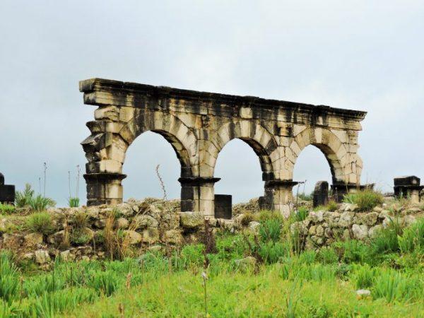 Weltkulturerbestätte Volubilis Bilder Marokko