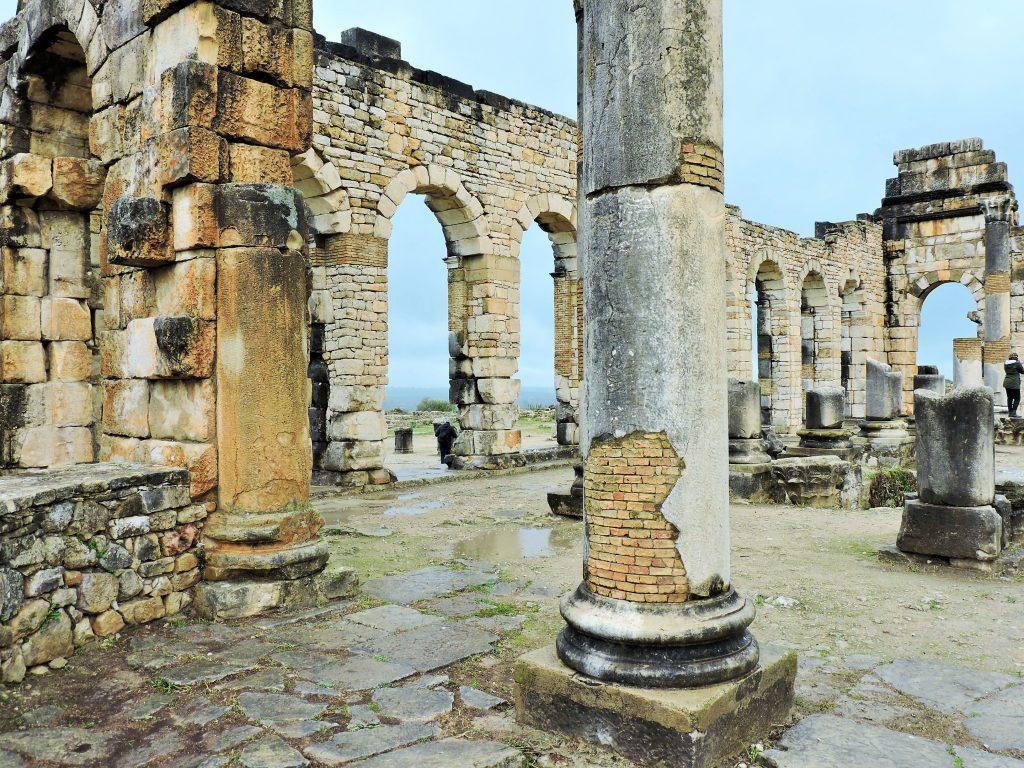Volubilis Bilder der Tempelanlage