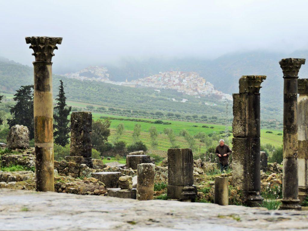 Volubilis Bilder Weltkulturerbestätte Marokko