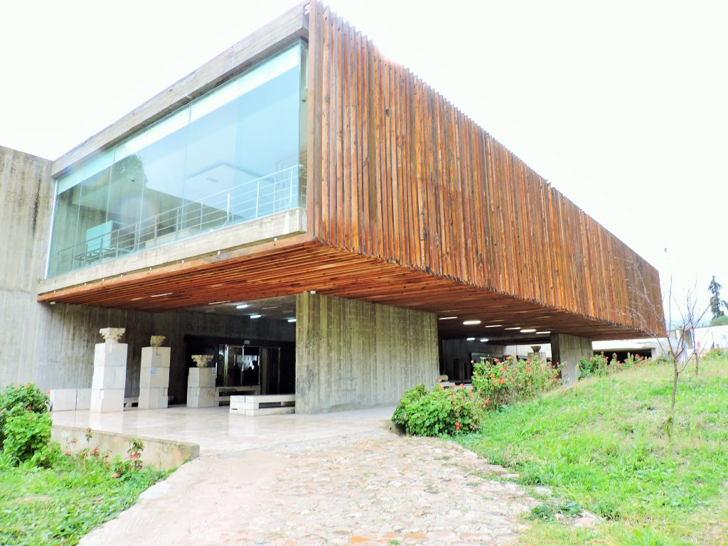 modernes Museumsgebäude