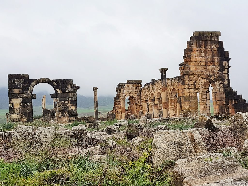 Tempelruine von Volubilis Marokko