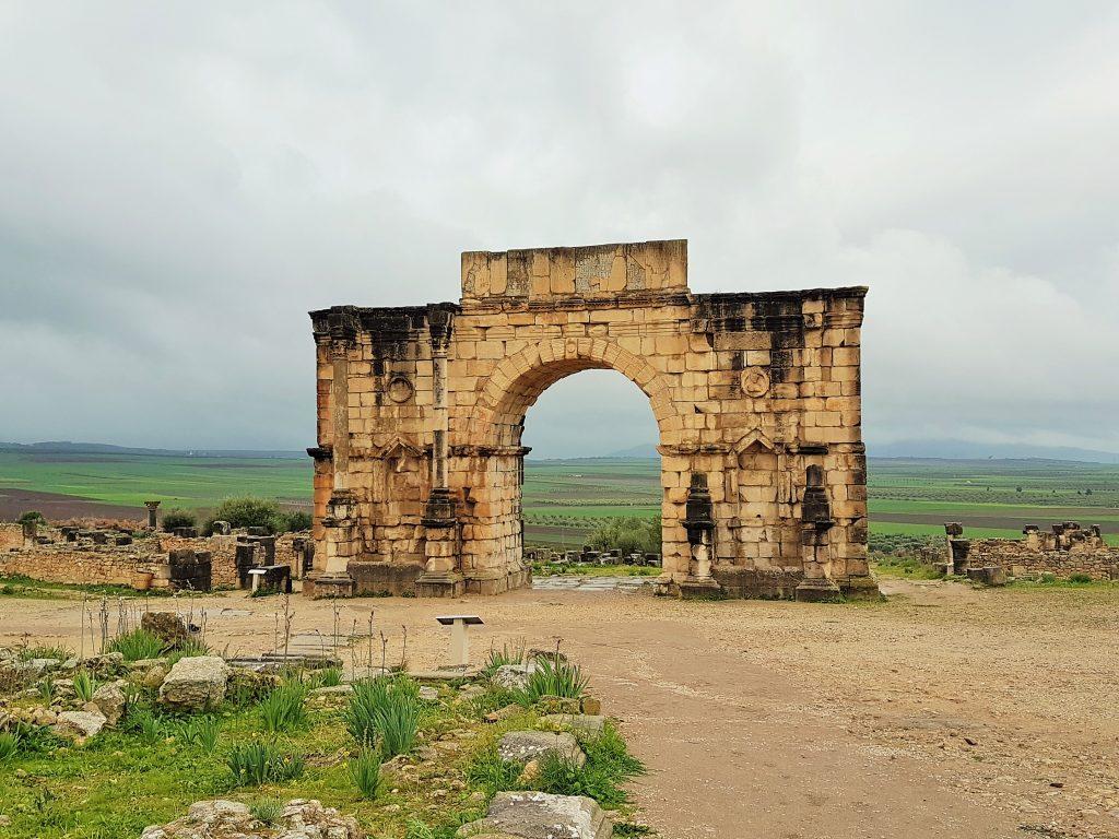 antiker Triumphbogen