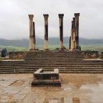 Tempel von Volubilis Marokko