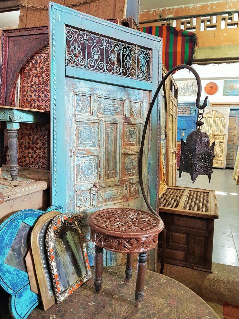 marokkanisches Handwerks-Geschäft