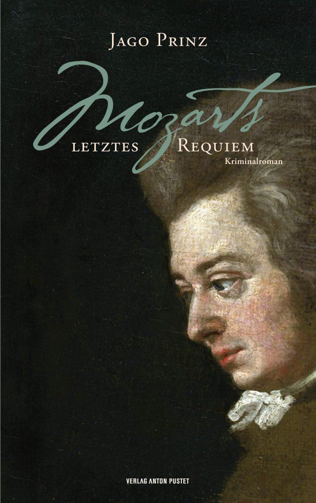 Cover für Mozart-Roman Buch