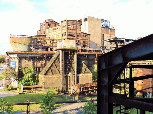 Lost place in Tschechien, stillgelegte Industrieanlange Ostrava
