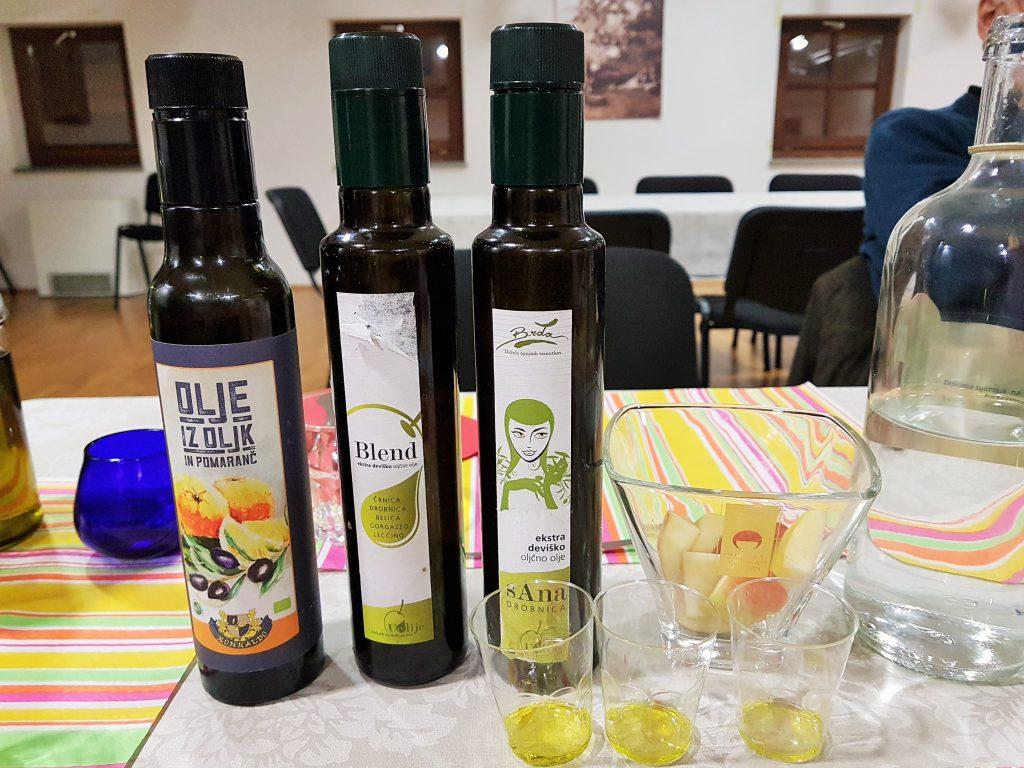 Olivenöl Verkostung Slowenien