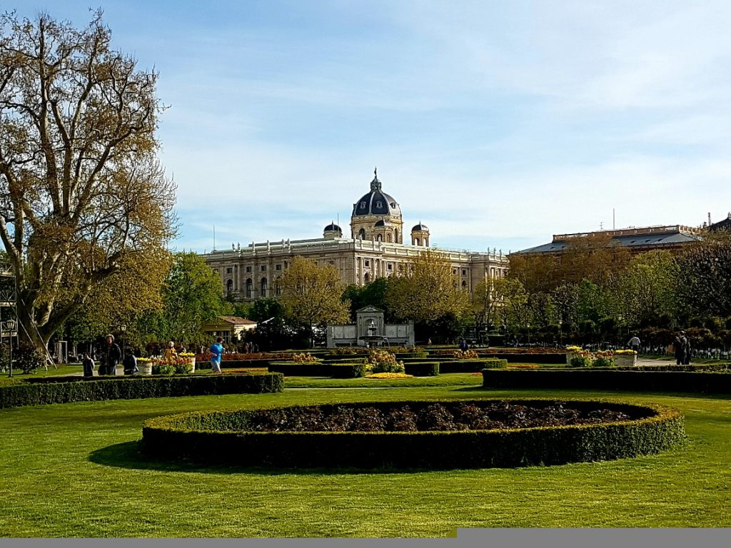 Volksgarten Wien im Frühling