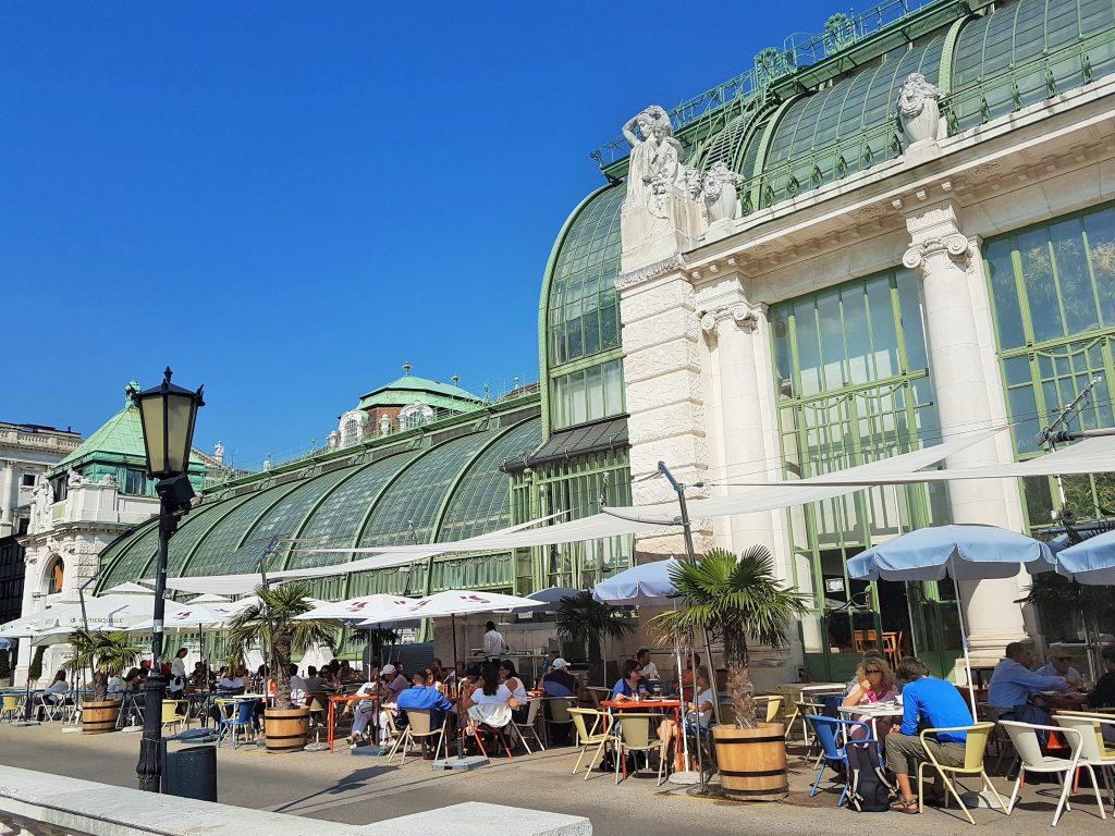 Burggarten mit Palmenhaus, Wien