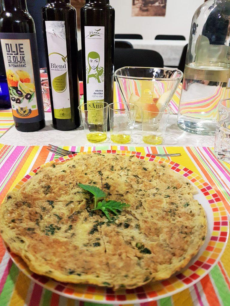 Frtalja Speise aus Slowenien