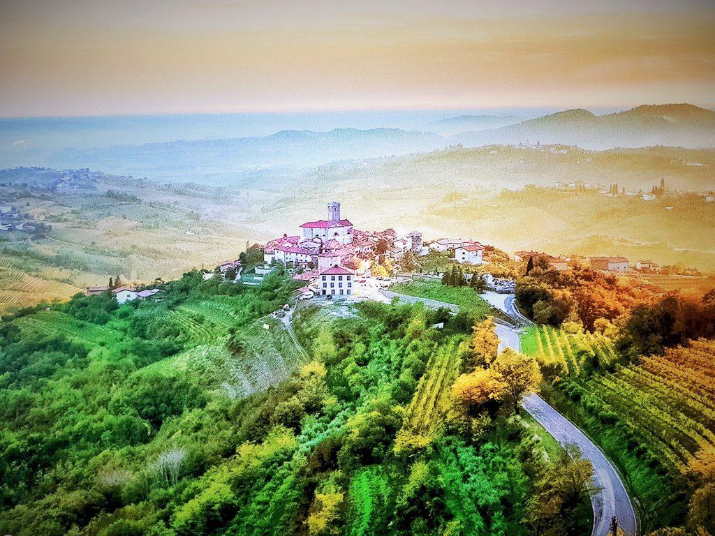 Weinregion Goriška Brda Slowenien