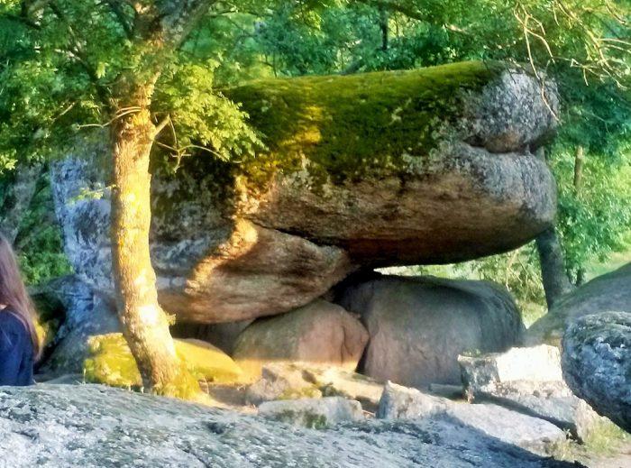 Kultplatz mit Riesenfels bei Beglik TashBulgarien