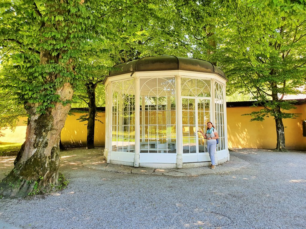 Pavillon Sound of Music Film, Hellbrunn Salzburg