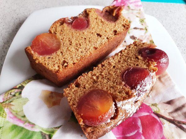 ObstkuchenBäuerinnen Art mit Kirschen