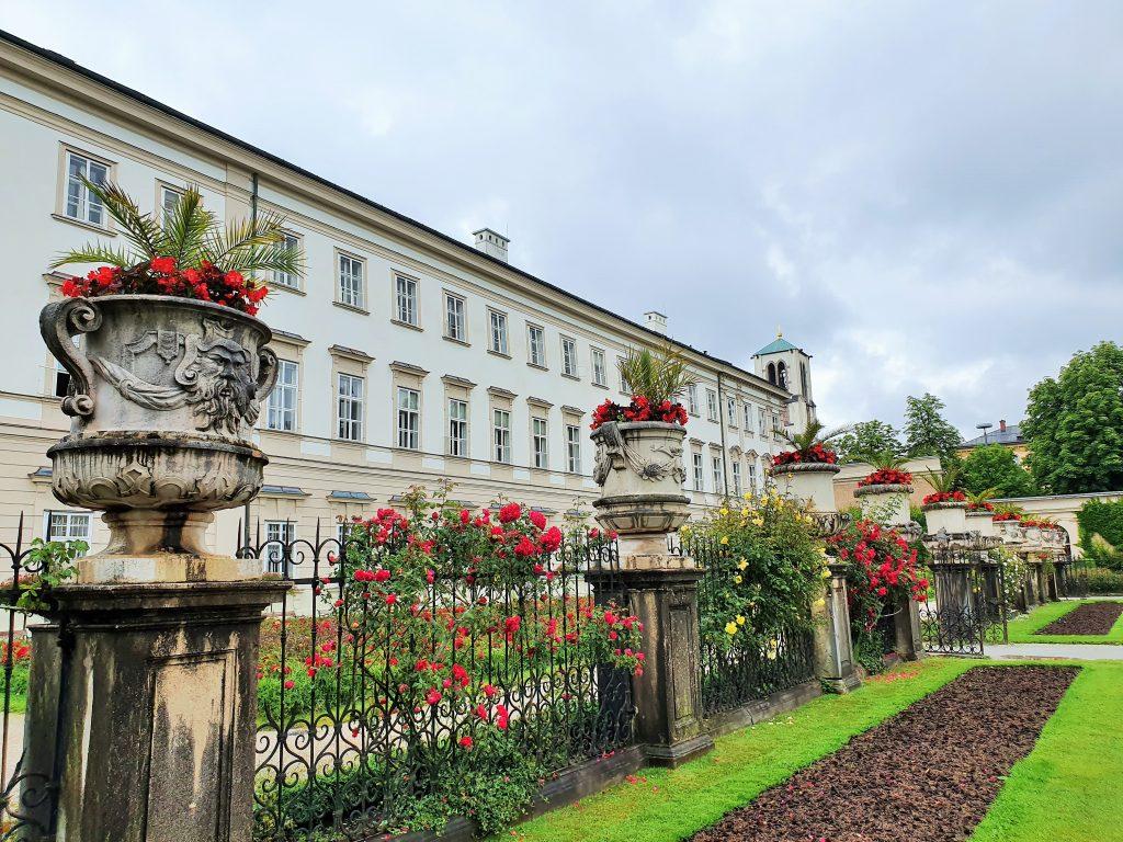 Schloss Mirabell und barocker Mirabellgarten