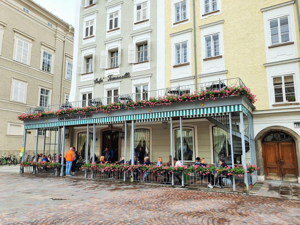 Café Tomaselli, ein Salzburg Altstadt Tipp